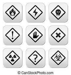 κίνδυνοs , κουμπιά , ριψοκινδυνεύω , παραγγελία , θέτω