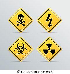 κίνδυνοs , μικροβιοφορέας , σήμα