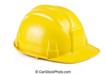 κίτρινο , ασφάλεια γαλέα , επάνω , ο , αγαθός φόντο