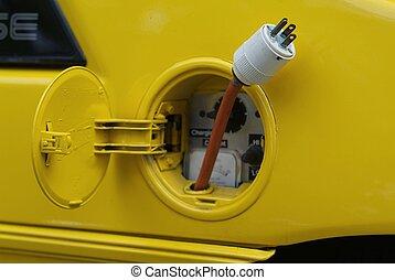 κίτρινο , ηλεκτρικός αναφλεκτήρας