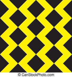 κίτρινο , μαύρο , ζίγκ ζάκ , φόντο