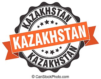 καζακστάν , στρογγυλός , ταινία , σφραγίζω