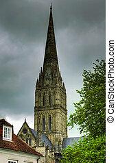 καθεδρικόs ναόs , κωδωνοστάσιο , salisbury