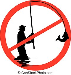 καθόλου αλιευτικός , σήμα