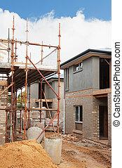 καινούργιος , δομή , σπίτι
