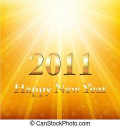 καινούργιος , ευτυχισμένος , 2011, έτος