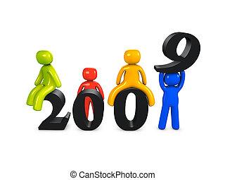 καινούργιος , 2009, έτος