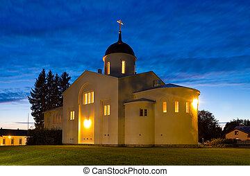 καινούργιος , valaam, μοναστήρι