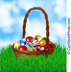 καλαθοσφαίριση , αυγά , πόσχα