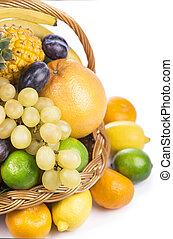 καλαθοσφαίριση , βέργα λυγαριάς , φρούτο , φρέσκος