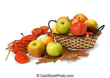καλαθοσφαίριση , μήλο