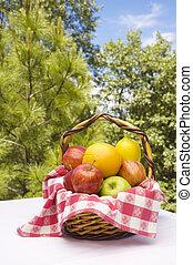 καλαθοσφαίριση , φρούτο