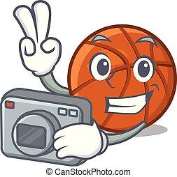 καλαθοσφαίριση , φωτογράφος , μπάλα , απομονωμένος ,...