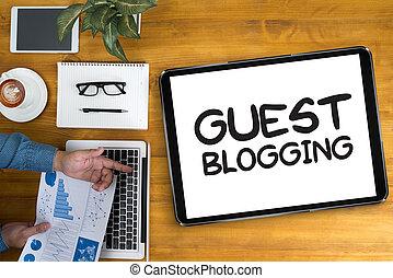 καλεσμένοs , blogging