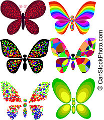 καλλιτεχνικός , πεταλούδα