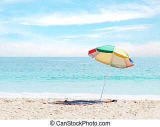 καλοκαίρι , άμμος ακρογιαλιά