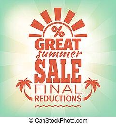 καλοκαίρι , αγορά διαφημιστική αφίσα