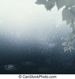 καλοκαίρι , βροχή , αφαιρώ , εποχιακός φόντο