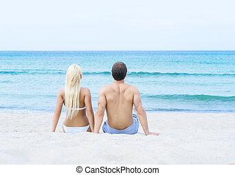καλοκαίρι , γυναίκα βαρύνω , αγαπώ , μαγιό , παραλία , άντραs