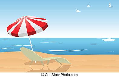 καλοκαίρι , παραλία