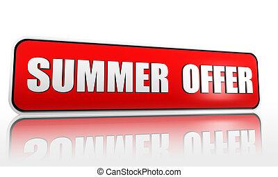καλοκαίρι , προσφορά