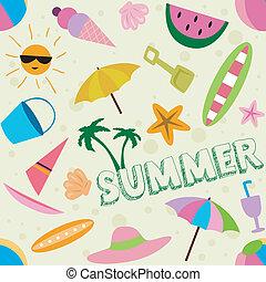 καλοκαίρι , σχεδιάζω