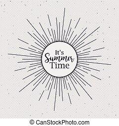 καλοκαίρι , σχεδιάζω , ώρα