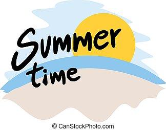 καλοκαίρι , σύμβολο , ώρα