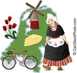 καλωσόρισμα , να , ο , ολλανδία