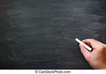καλός , γράψιμο , μαυροπίνακας , /, chalkboard., copyspace...