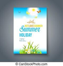 καλός , ημέρα , καλοκαίρι