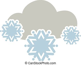 καλός , χιόνι , σύνεφο , εικόνα