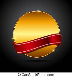 καλύτερος , μικροβιοφορέας , ribbon., κόκκινο , επιγραφή , εκλεκτός