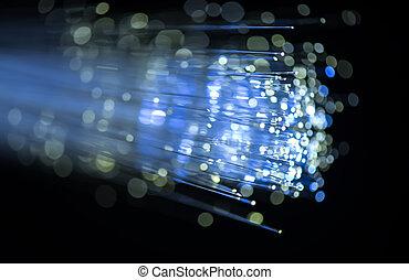 καλώδιο , οπτικός , δίκτυο , ίνα