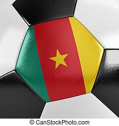 καμερούν , μπάλλα ποδοσφαίρου