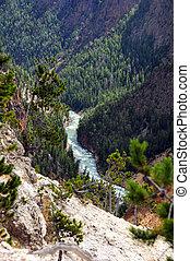 καμπή , yellowstone ποταμός