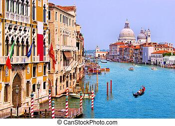 κανάλι , βενετία , μεγαλειώδης