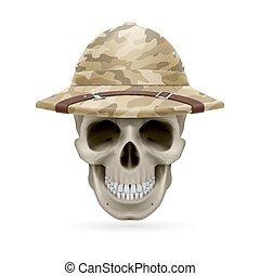 καπέλο , κρανίο