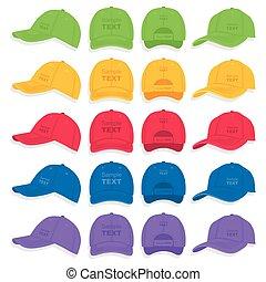 καπέλο του μπέηζμπολ , θέτω