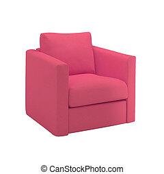 καρέκλα , απομονωμένος , αναμμένος αγαθός