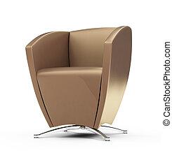 καρέκλα , μοντέρνος , άσπρο , εναντίον