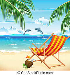 καρέκλα , παραλία