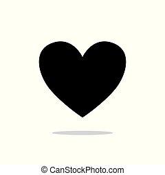 καρδιά , αγάπη , αναχωρώ. , σύμβολο. , ανώνυμο ερωτικό γράμμα , s , vector., ημέρα , εικόνα