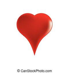 καρδιά , αγαθός αριστερός , φόντο.