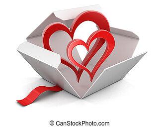 καρδιά , ακάλυπτη θέση αμπαλάρισμα