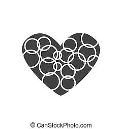 καρδιά , δακτυλίδι , μικροβιοφορέας , εικόνα