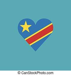 καρδιά , διαμέρισμα , σημαία , σχήμα , κογκό , δημοκρατία , σχεδιάζω , δημοκρατικός , εικόνα