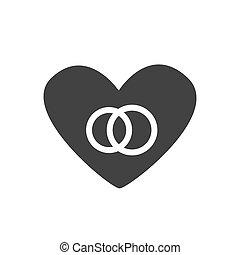 καρδιά , ζευγάρι , μικροβιοφορέας , εικόνα