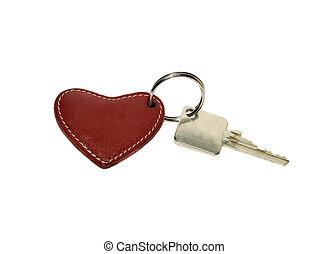 καρδιά , κλειδιά , εμπορικός οίκος απάντηση , δακτυλίδι , κόκκινο