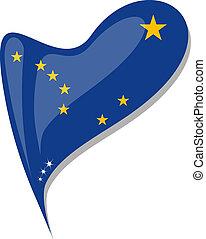 καρδιά , κουμπί , αλάσκα , αναπτύσσομαι. , σημαία , μικροβιοφορέας